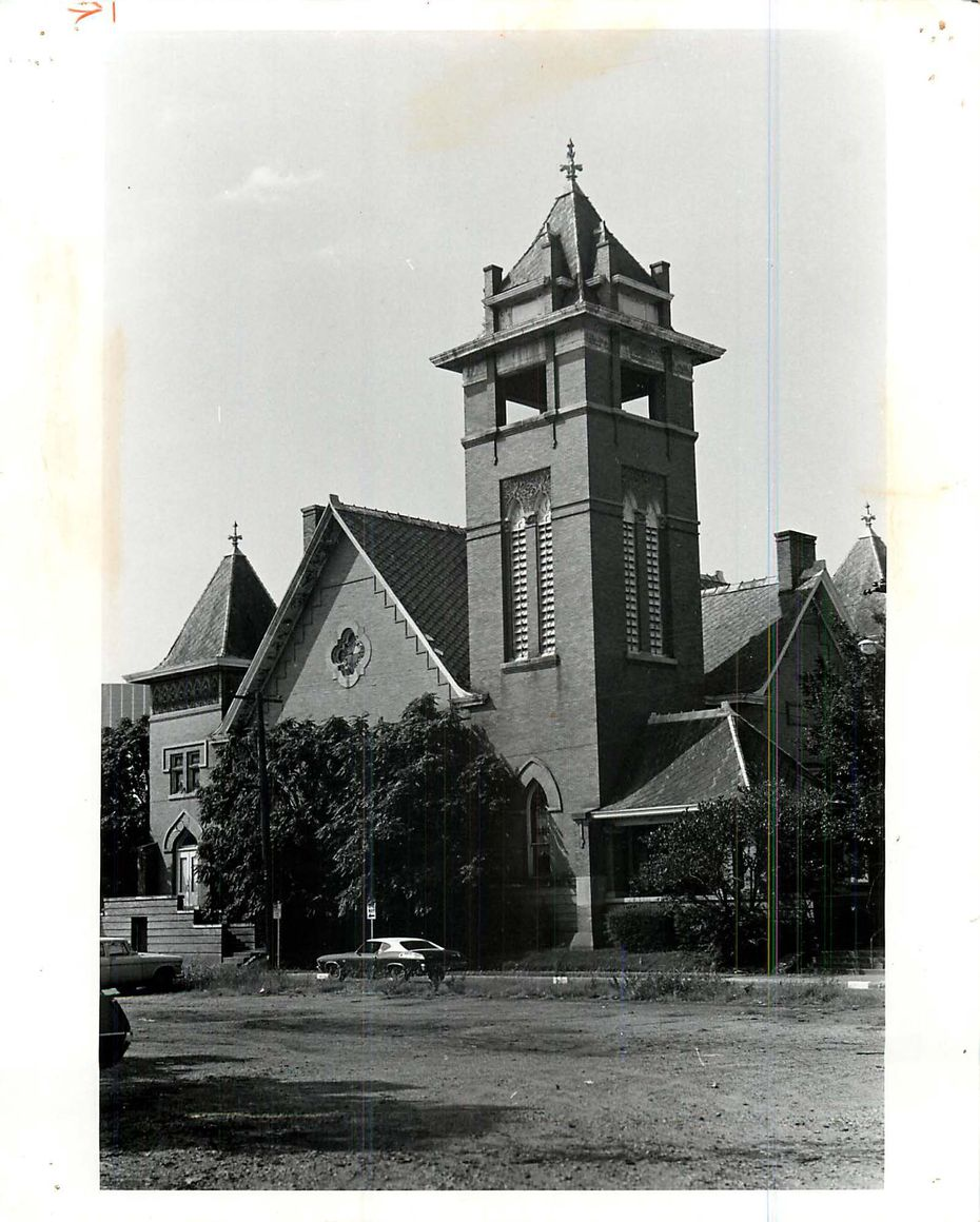 Trinity Methodist Church, Feb. 26, 1975.