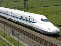 "Texas Central High-Speed Rail wants to build a Dallas to Houston rail line that would use high-speed ""bullet"" trains like those found Japan. (DMN file photo)"