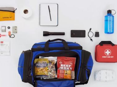The city of Richardson is offering residents tips for National Preparedness Month, which happens every September. Here is an example of some of the items you can include in an emergency survival kit.