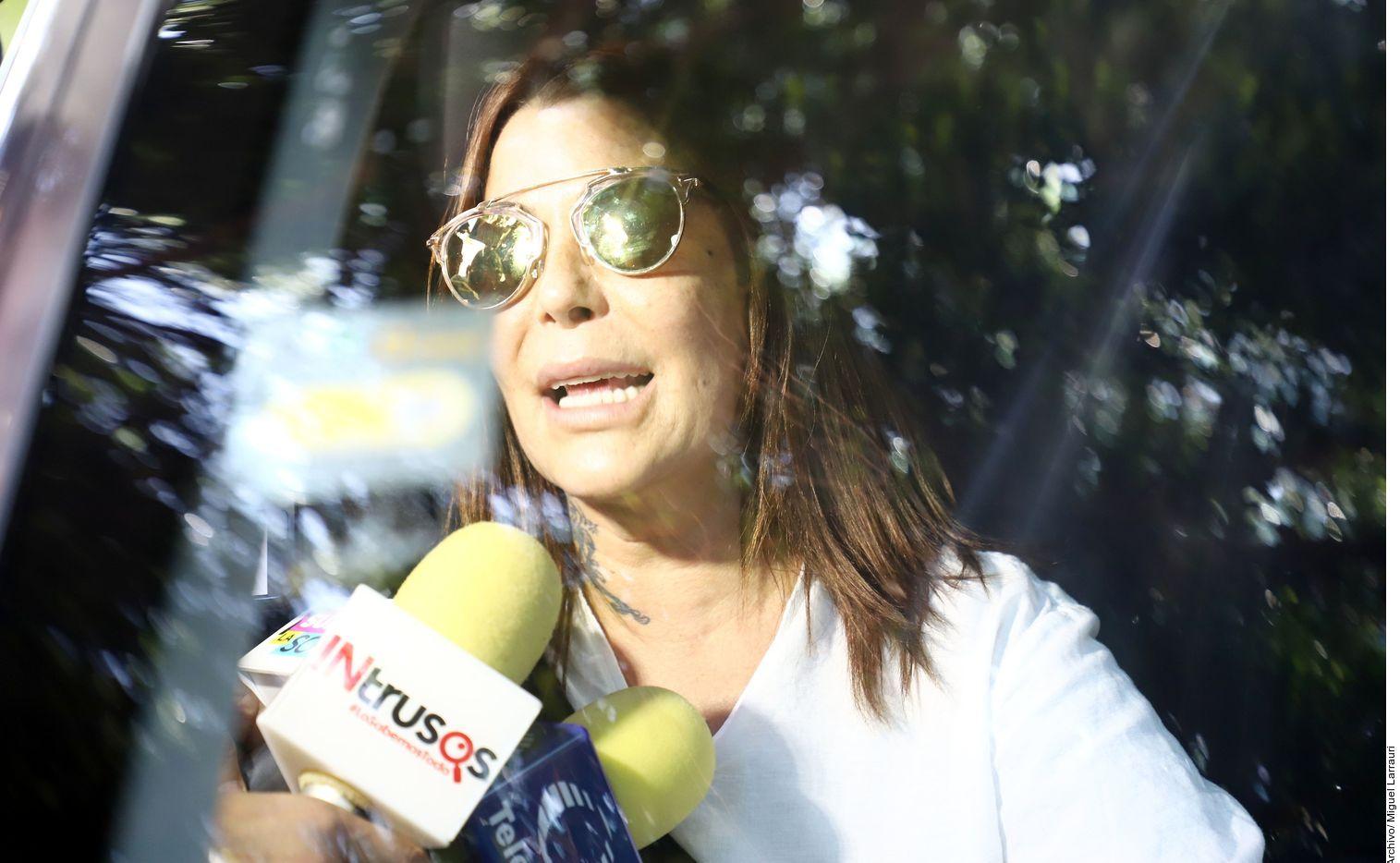 Conoce Alejandra Guzmán a ladrón de su casa. Foto Agencia Reforma