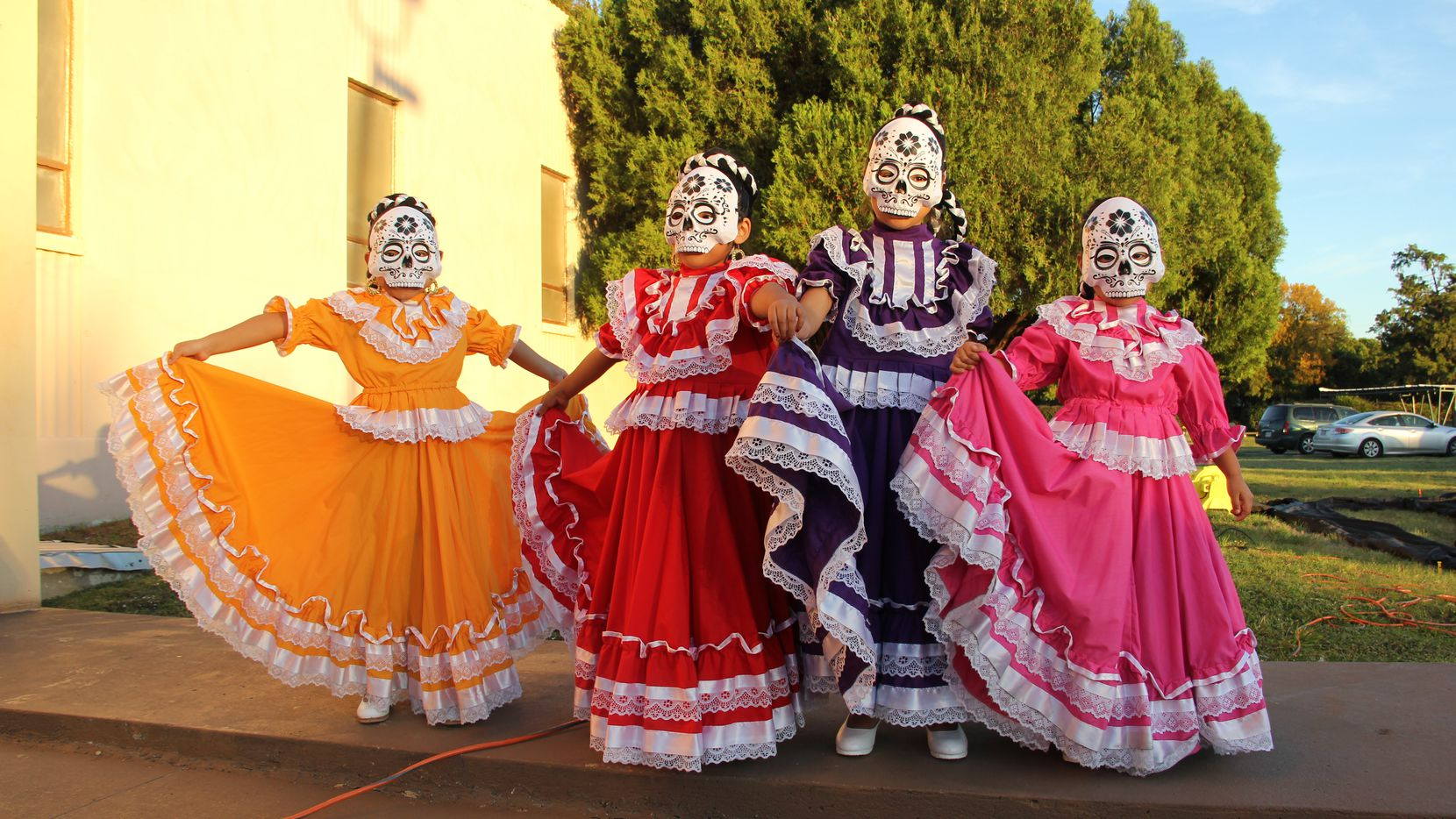 """The Hughes Family Tribute Center Crown Hill Memorial Park will host its fifth Día de los Muertos Celebración on Saturday, Nov. 2. There will be an opening parade, music and dance, face painting, clowns and stilt walkers, an altar and offerings, and a screening of """"Coco."""""""