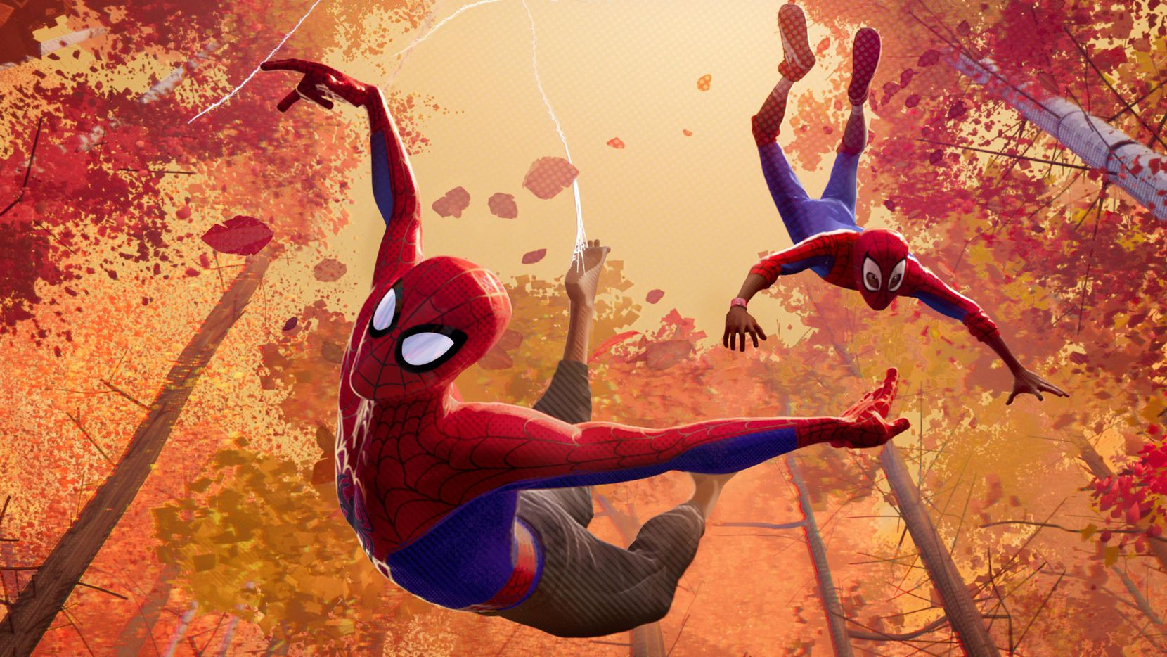 """""""Spider-Man: Into the Spider-Verse"""", un nuevo filme sobre el Hombre Araña en versión animanda, se estrenó este viernes.(COLUMBIA PICTURES)"""