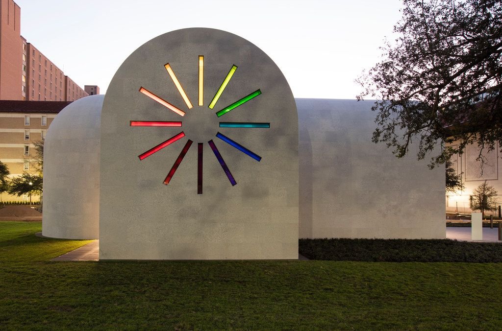 The west facade of Ellsworth Kelly's Austin