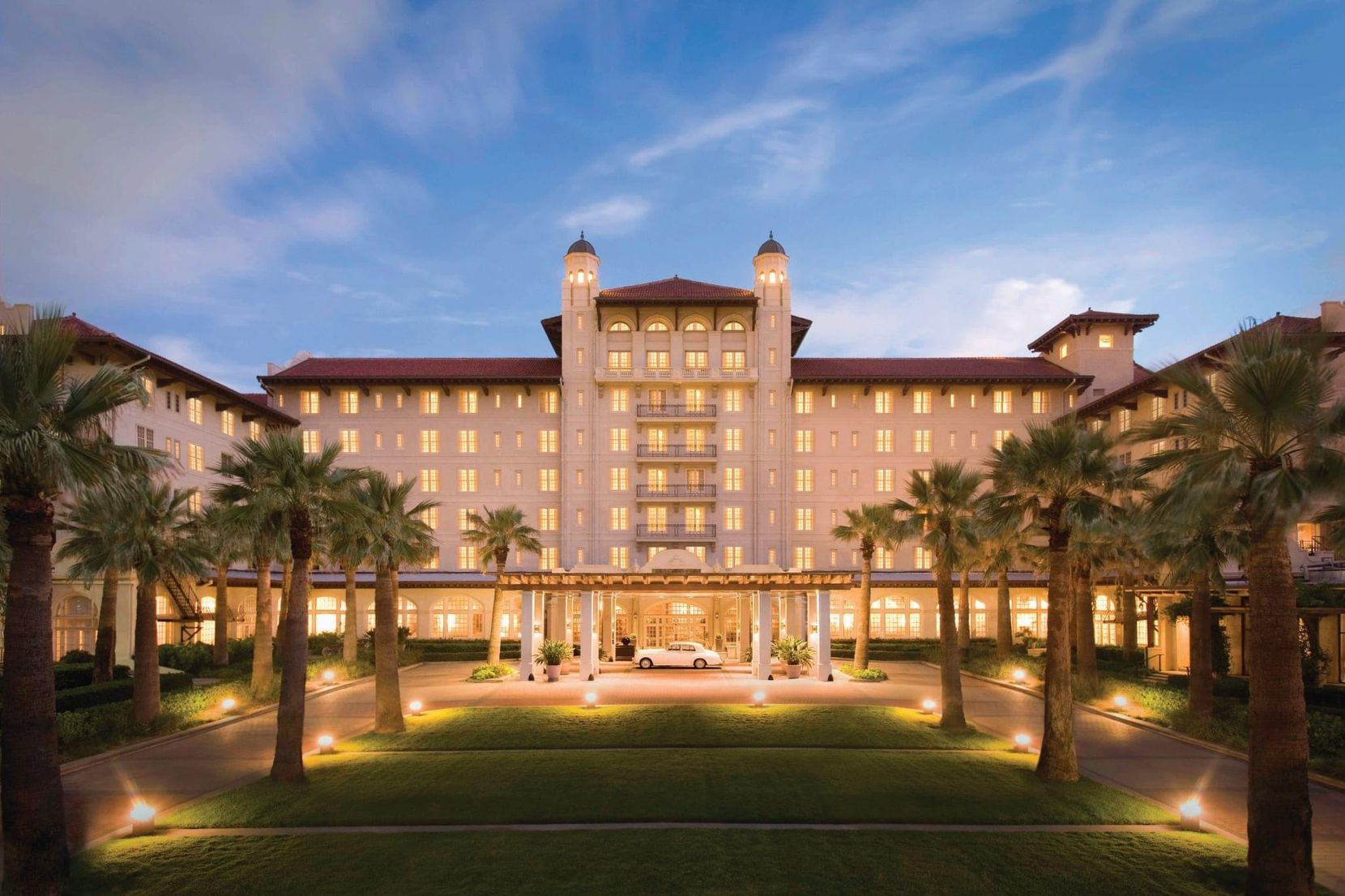 Artist's rendering of what the grand entrance to the Grand Galvez will look like.