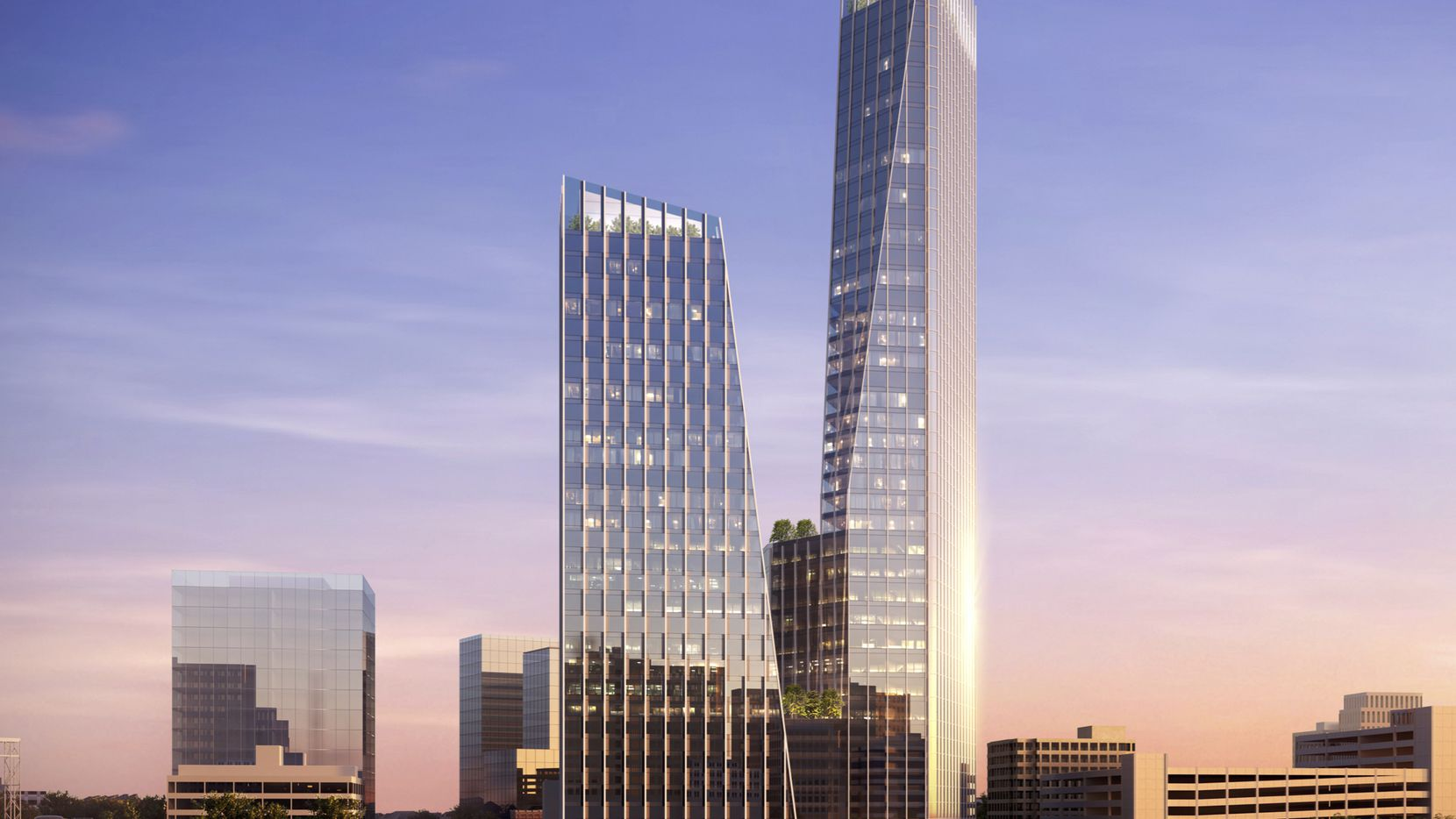 Dallas property and investor Scott Rohrman's 42 Real Estate is working on plans for a two-building skyscraper project at Elm and Pearl streets in downtown Dallas.