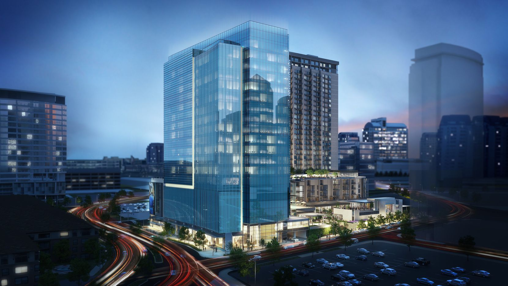 Akin Gump is leasing three floors in The Union Dallas, scheduled to open next year at Field Street and Cedar Springs Road.