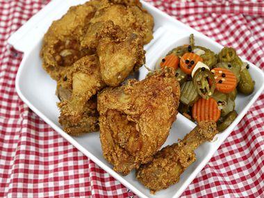 Τουρσί τηγανητό κοτόπουλο