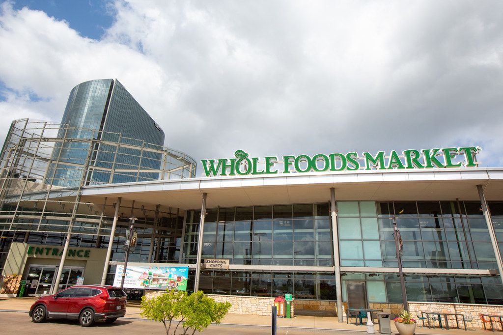 A Whole Foods store in the Vickery Meadow neighborhood in Dallas.