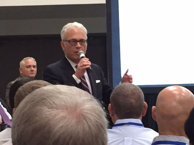 The Rev. Charles Foster Johnson spoke at the Texas Association of School Boards' 2017 convention in Dallas last month.