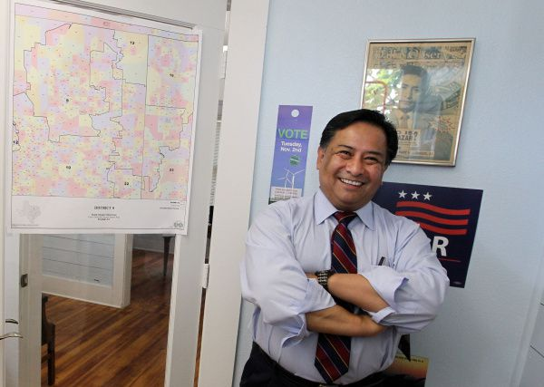 Steve Salazar is a candidate in the primary race for Congressional District 33.