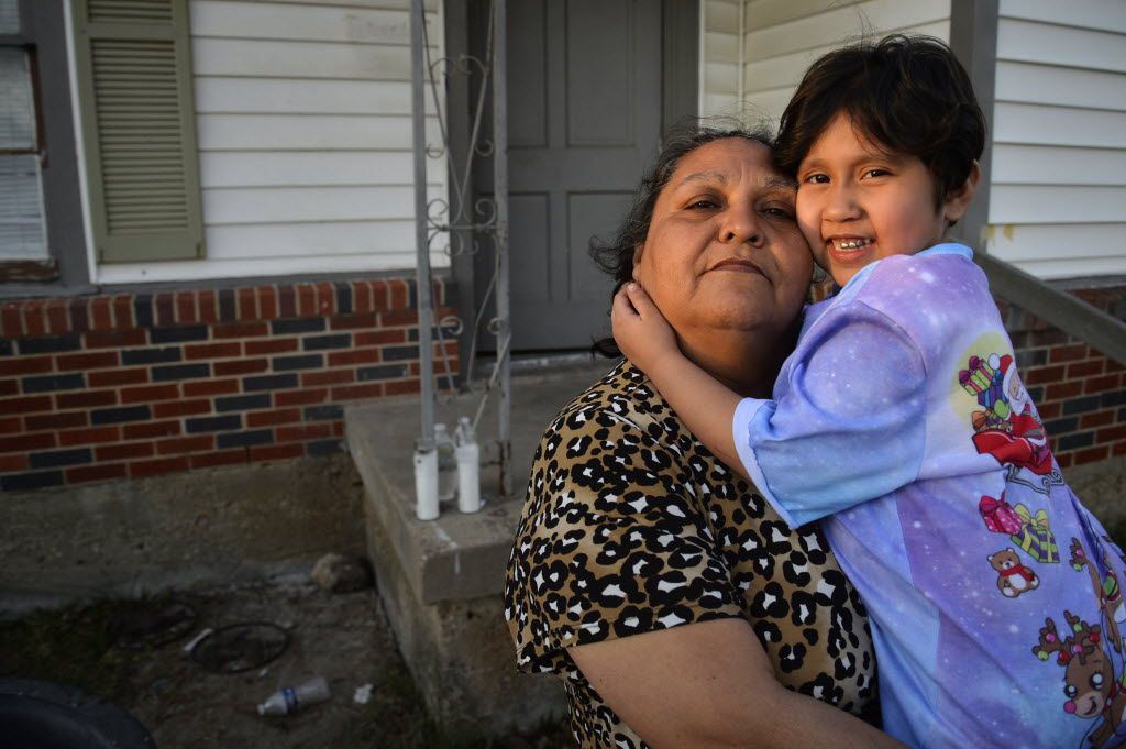 Rosemary Espinosa held granddaughter Cicilia Valdez in  January 2016 in Dallas. Rosemary is the mother of Marisol Espinosa and Cicilia is Marisol's daughter. Marisol went missing Dec. 29, 2015.