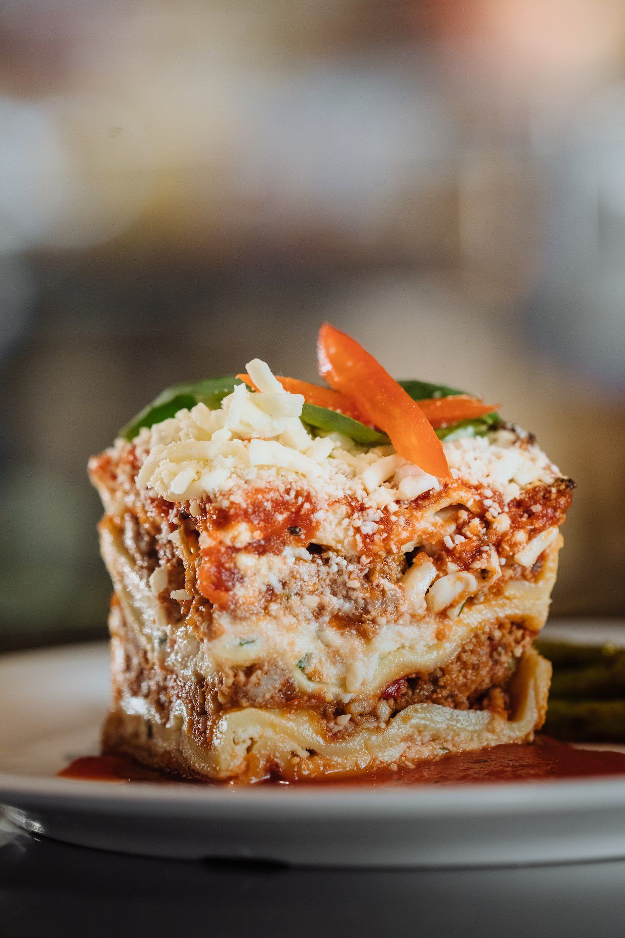 Lasagna at Eatzi's