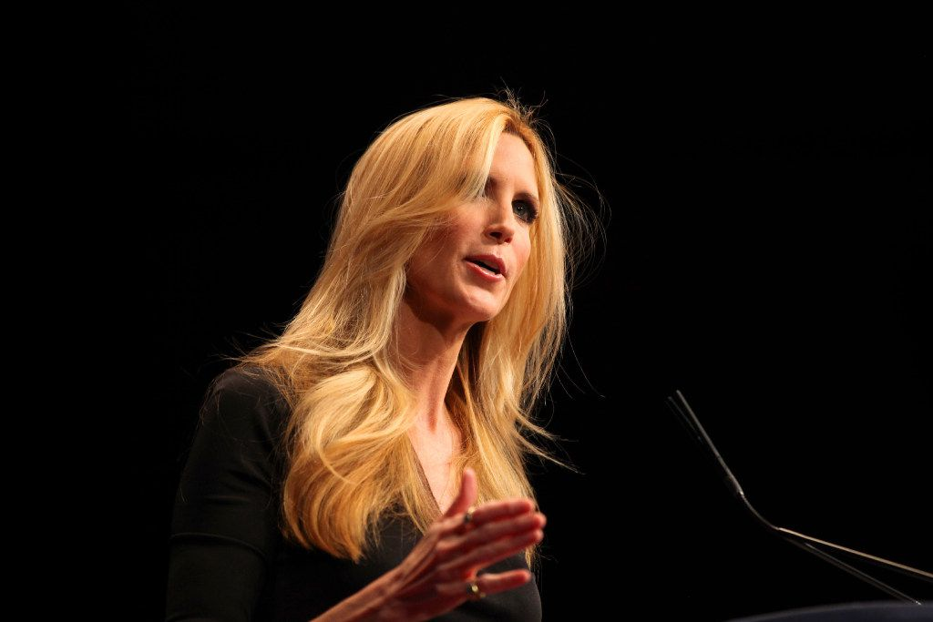 Ann Coulter speaks at the Conservative Political Action Conference in Washington, Feb. 10, 2012.