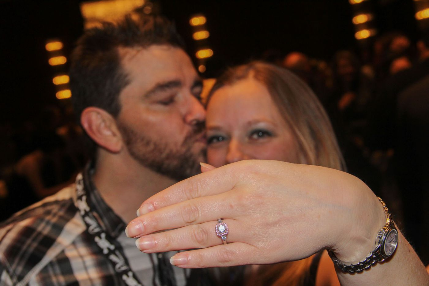 NTX Beer Week held its Second Annual Brewers Ball at the Renaissance Dallas Hotel on November 13, 2015. Christopher Barry proposed to his girlfriend Jennifer Brantley at the Brewers Ball.