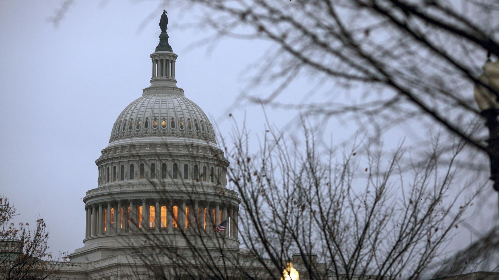 El gobierno permanece cerrado desde el 22 de diciembre. Foto: AP