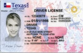 Notice the star in the upper right-hand corner? If you don't have one of these by Oct. 1, 2021, you might not be able to get on a plane. Contact DPS for an updated license.