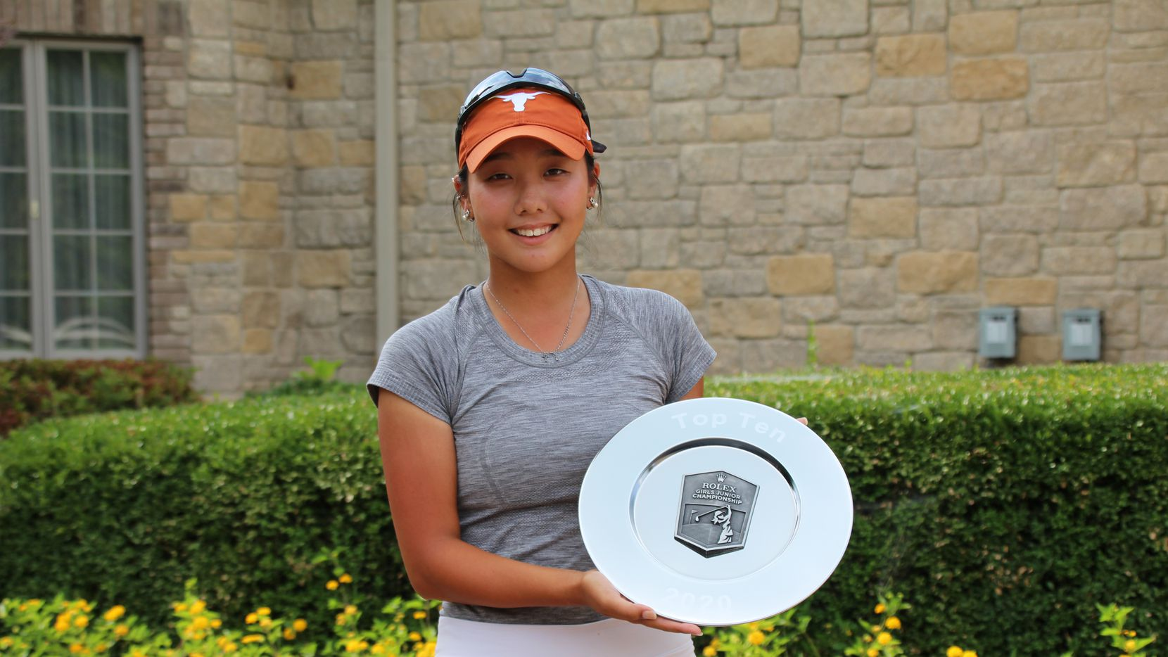 Bohyun Park of Farmers Branch was named first-team Rolex Junior All-Americans by the American Junior Golf Association on Oct. 28, 2020.