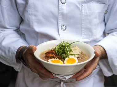 Ivan Orkin, who started cult-followed ramen shop Ivan Ramen, hasn't moved to Texas. But his food is now available in Dallas and Fort Worth, thanks to a partnership with Blue Sushi Sake Grill, which is serving as Ivan Ramen's ghost kitchen.
