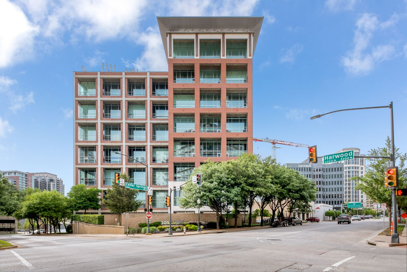 A look at the property at 2011 Cedar Springs Road #302 in Dallas.