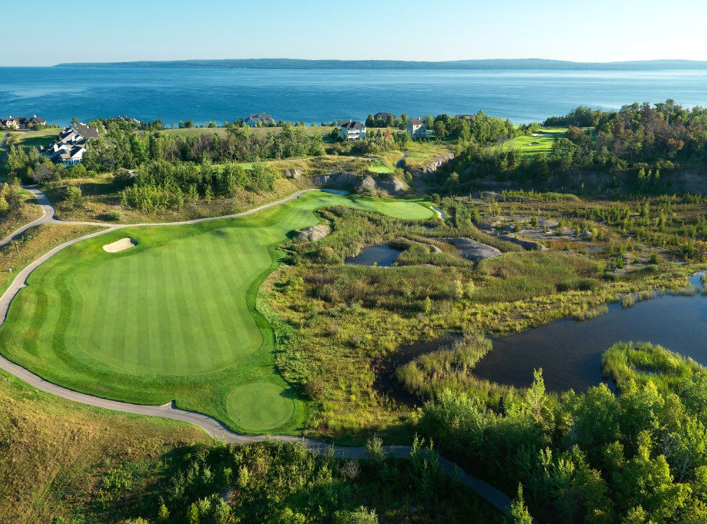 Bay Harbor Quarry at Bay Harbor Golf Club in Michigan