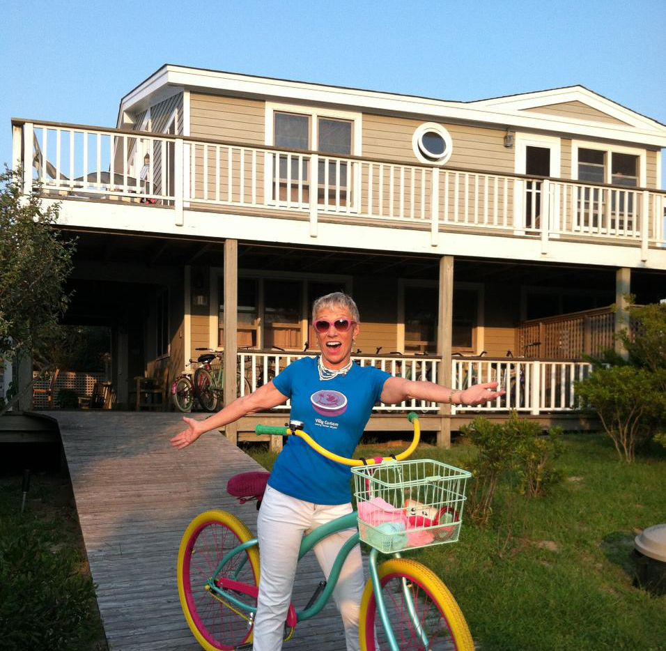 Shark Tank's Barbara Corcoran keeps a custom bike in Fire Island, N.Y., and another in Manhattan. They are built like tanks, says Corcoran, who used to go through four bikes each summer.