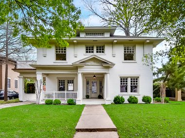 A look at the property at 4908 Junius Street in Dallas.