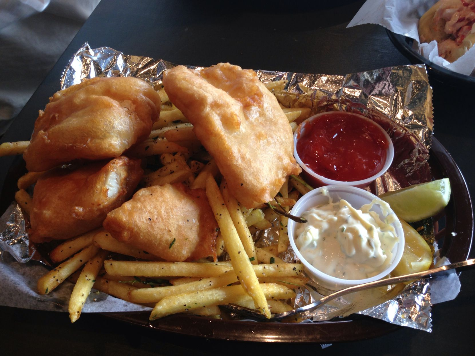 Competition can be tough for a table at 20 Feet Seafood Joint, Marc Cassel's East Dallas spot for fish 'n' chips and lobster rolls.