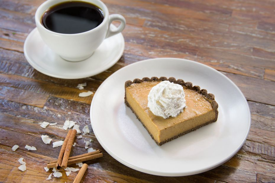 True Food Kitchen is selling squash pies to go on Thanksgiving. They cost $25 each.