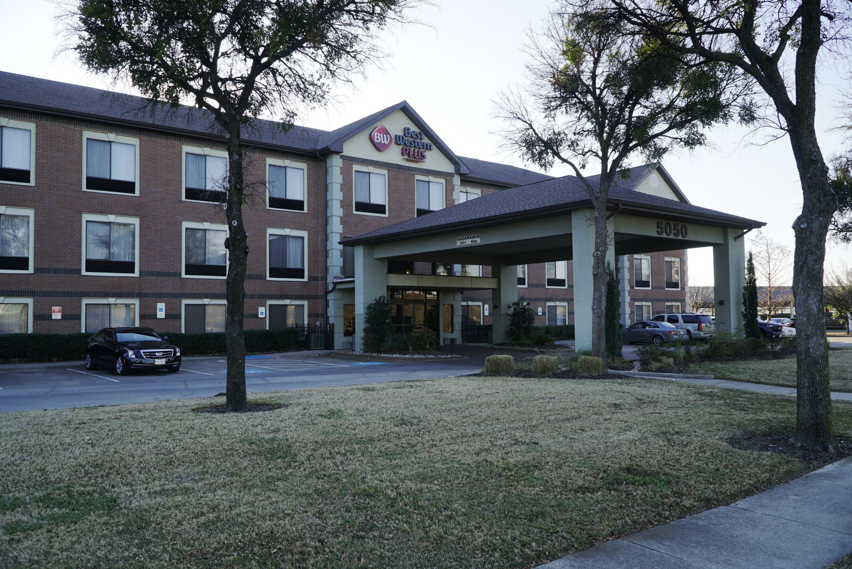Best Western Plus DFW Airport Suites in Irving, Texas on Wednesday, December 12, 2019. (Lawrence Jenkins/Special Contributor)