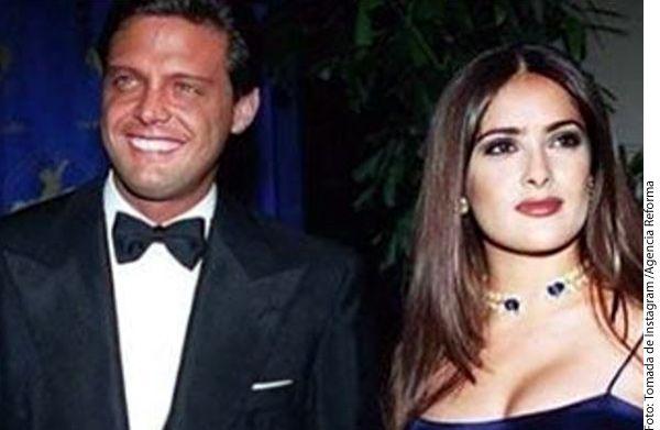Salma Hayek pidió no crucificar a Luis Miguel, quien este martes tuvo que pagar una fianza millonaria ante las autoridades estadounidenses por no presentarse antes a un juzgado a enfrentar una demanda de su ex mánager./ AGENCIA REFORMA