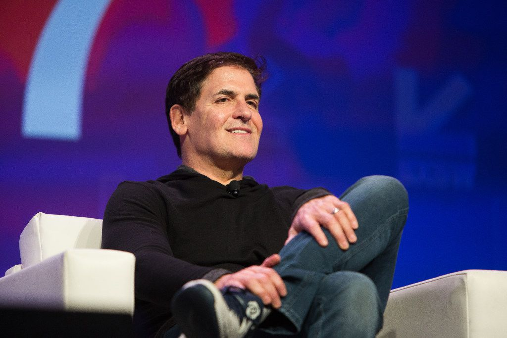 Mark Cuban appears on a panel about technology and disruption in government during the 2017 SXSW Conference at the Austin Convention Center in Austin, Texas on March 12, 2017.(Julia Robinson/Special Contributor)