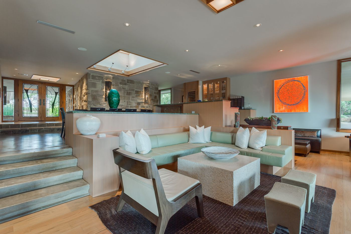 A look at the interior of 4808 Bill Simmons Road in Colleyville, TX.