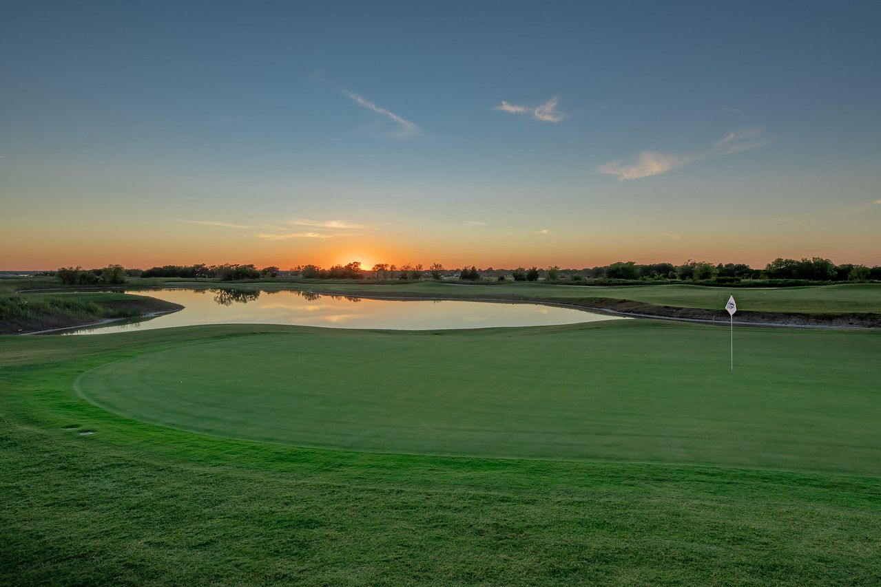 The view from behind the No. 8 green at Heath Golf and Yacht Club in Heath, Texas. No. 8 is a 212-yard par 3 from the tips. The golf course near Lake Ray Hubbard is scheduled to have its grand opening on Saturday, Oct. 17, 2020.