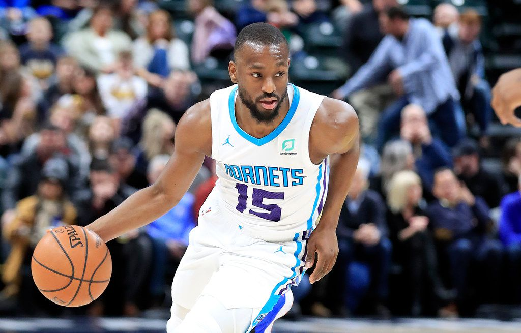 INDIANAPOLIS, INDIANA - JANUARY 20:   Kemba Walker #15 of the Charlotte Hornets dribbles the ball against  the Indiana Pacers at Bankers Life Fieldhouse on January 20, 2019 in Indianapolis, Indiana.     (Photo by Andy Lyons/Getty Images)