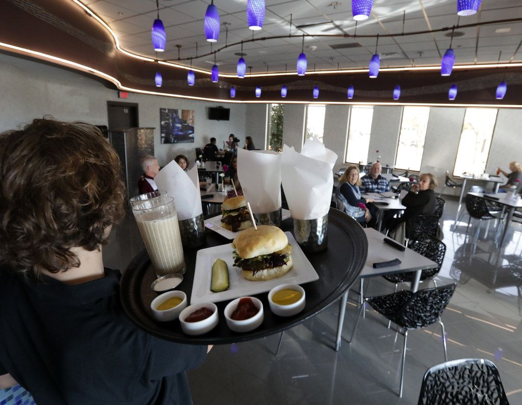 Allen High School's blu' Community Bistro will offer weekly take-home family-style meals.