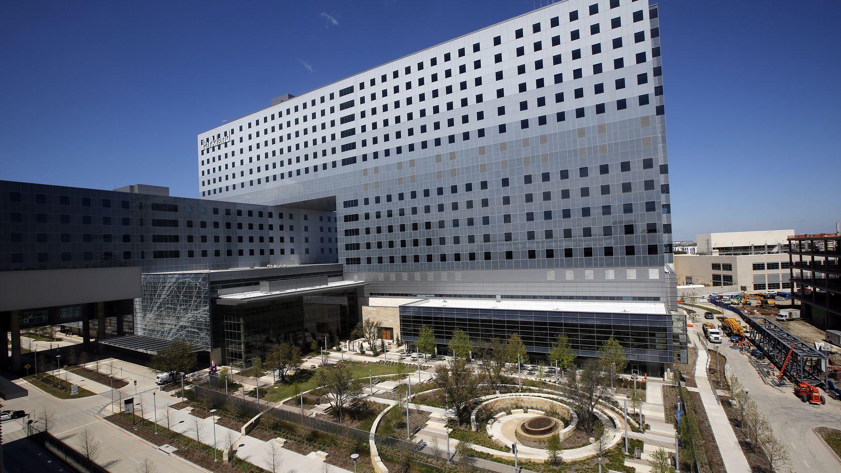 The new Parkland Memorial Hospital was a massive addition to the Dallas landscape.