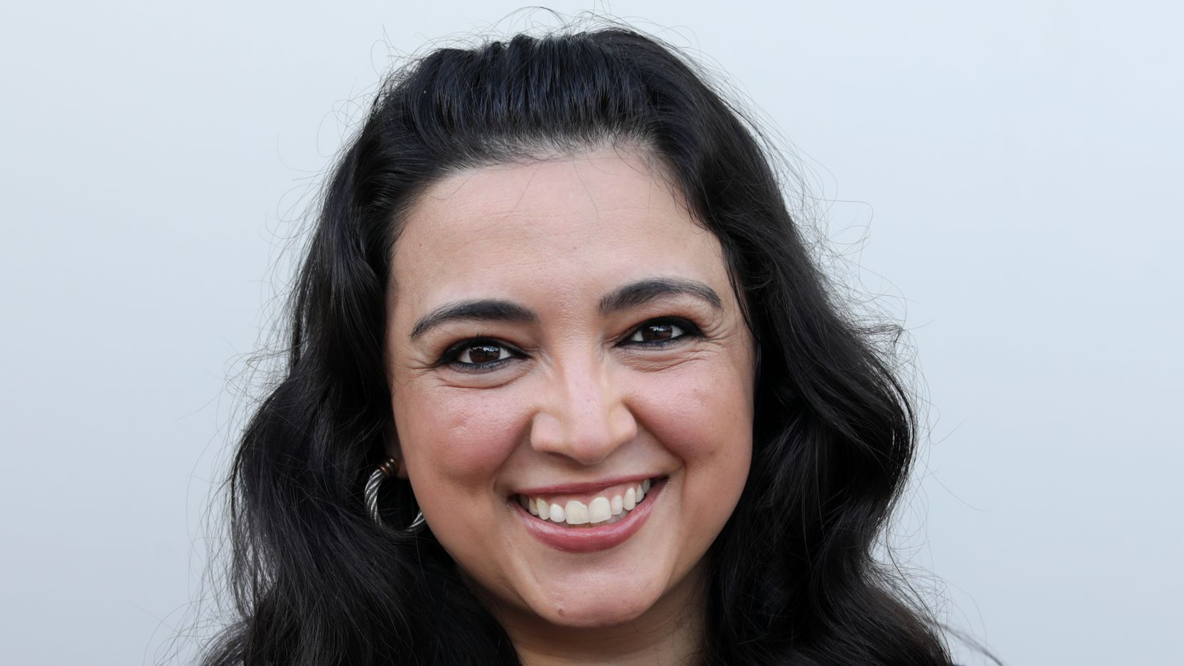 Lulu Seikaly photographed in downtown Plano on Sep. 17, 2020.