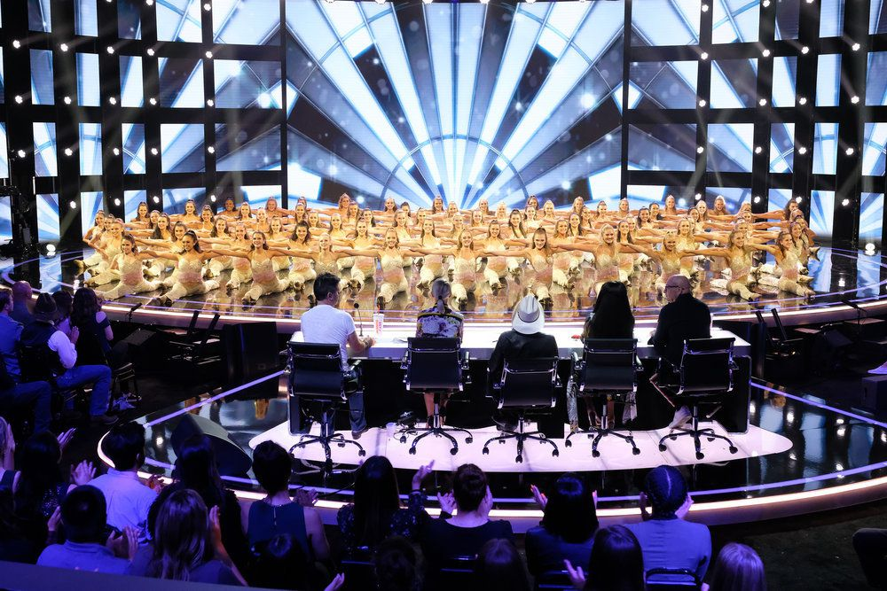 "AMERICA'S GOT TALENT -- ""Judge Cuts 1"" Episode 1408 --  Pictured: Emerald Belles -- (Photo by: Justin Lubin/NBC)"
