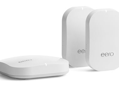 Eero base unit and two beacons can cover your whole house with Wi-Fi.