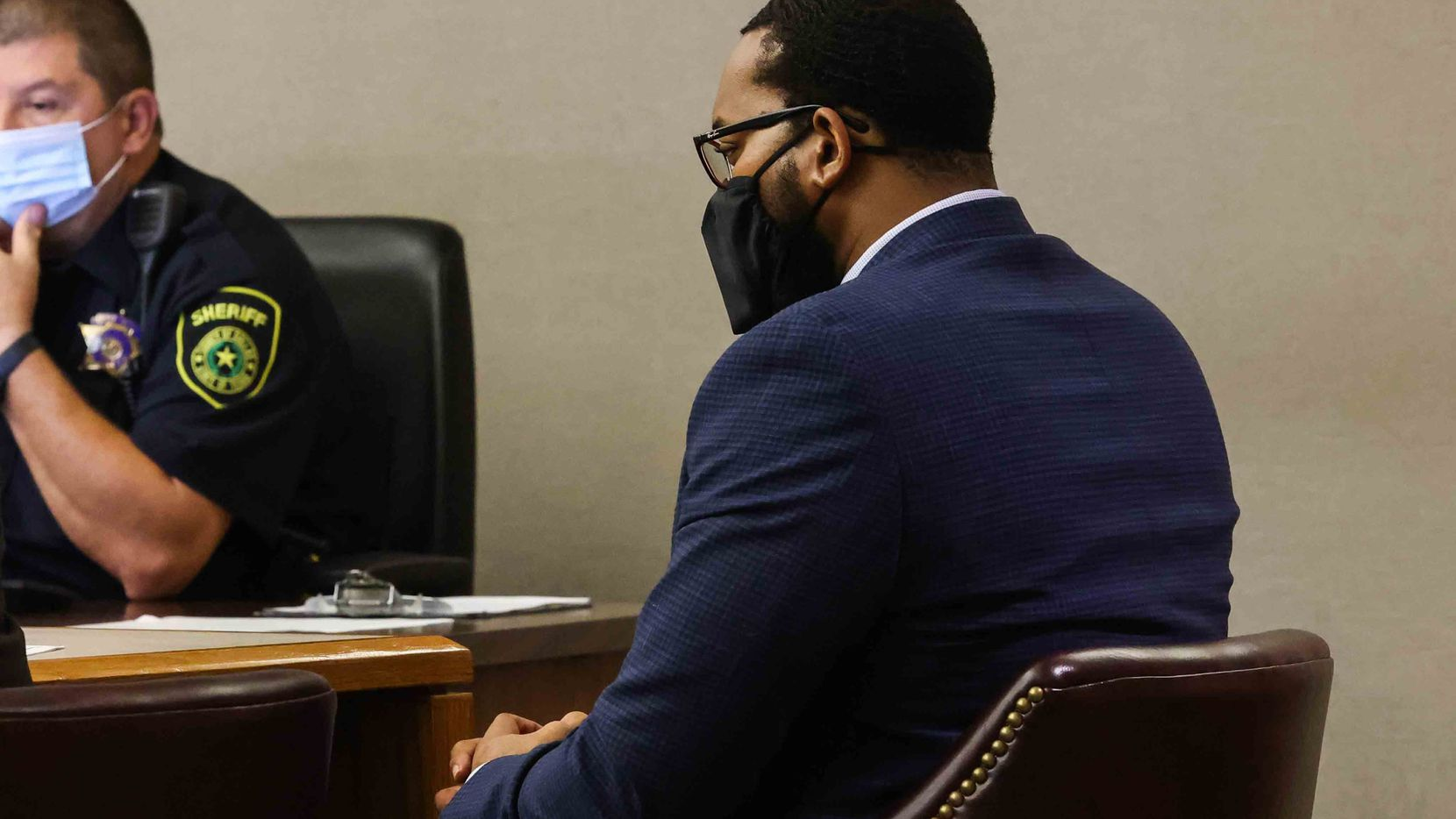Terrelwin Jones (shown) could face up to 20 years in prison if he violates any of the terms of his probation.