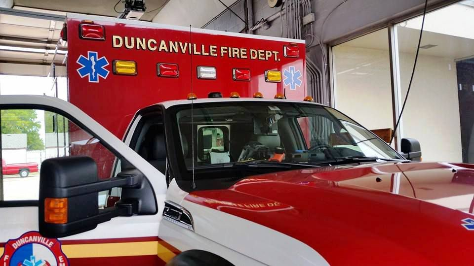 Two off-duty Duncanville firefighters recently found a man semi-conscious in his home while they were mowing lawns on their day off.