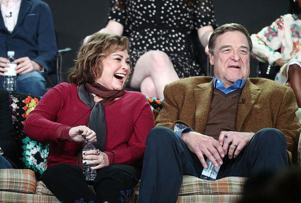 La pareja protagonista de 'Roseanne'. Foto Getty Images