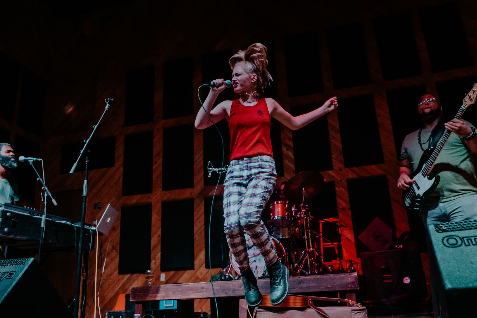 Remy Reilly performed No Doubt songs at The Rustic in Dallas last summer.