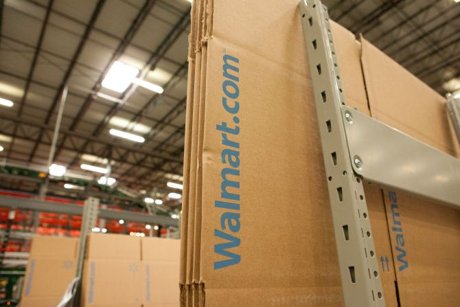 Walmart.com's fulfillment center in Fort Worth shipped its first order Sept. 23, 2013. The 800,000-square-foot distribution center is the first in Texas for Wal-Mart Stores Inc. that is dedicated to its e-commerce side.