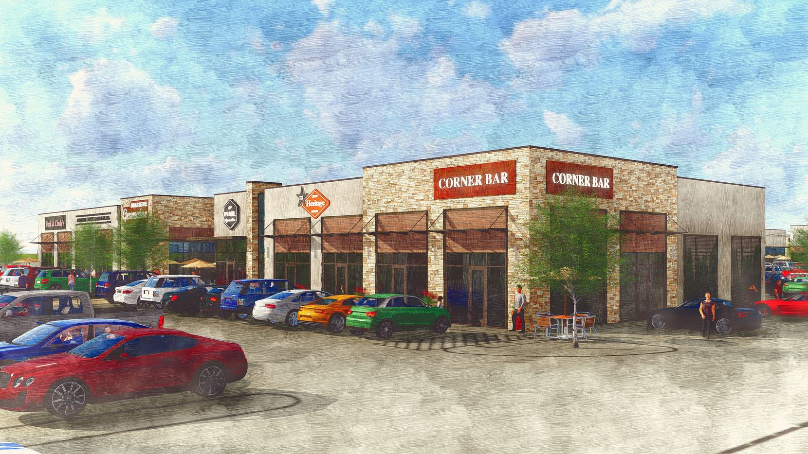 Shops at Chisholm Trail Ranch will open next year on Chisholm Trail Parkway.