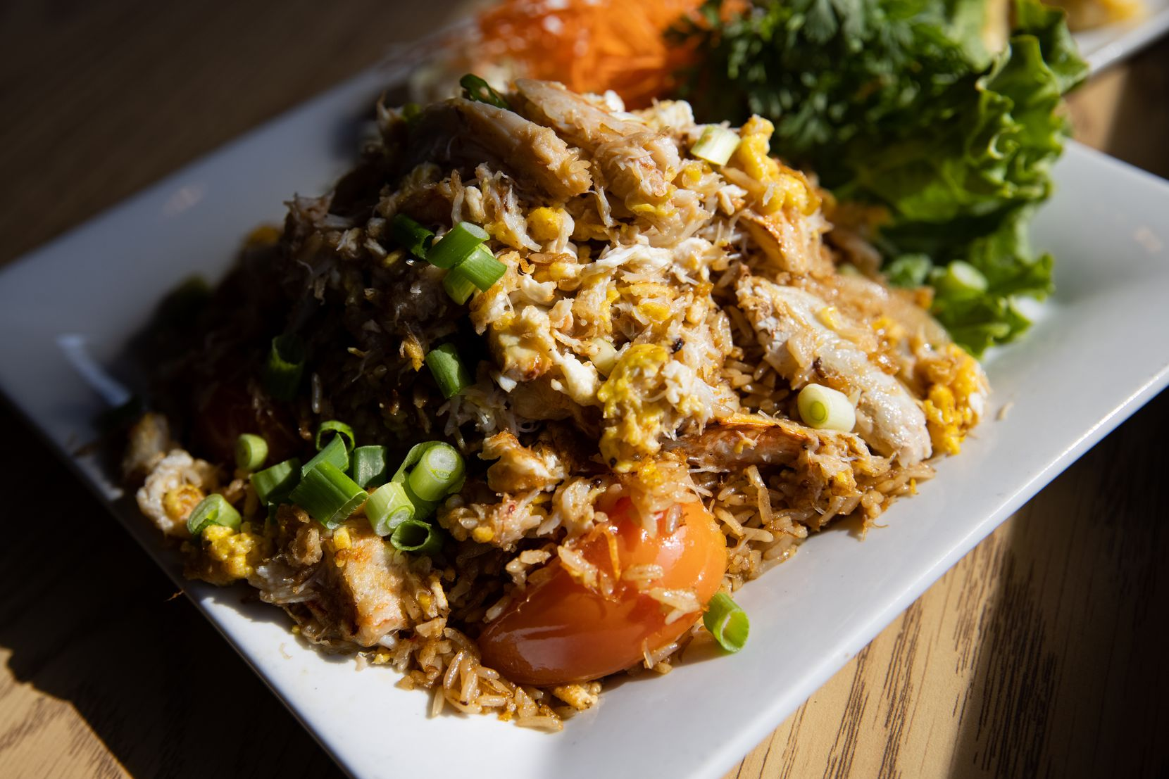 The crab fried rice place from Bangkok at Greenville