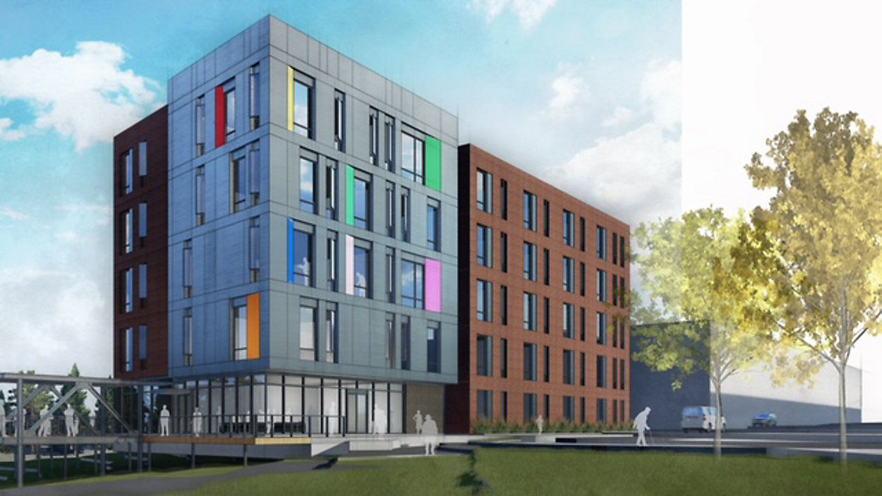 Oak Lawn Place will include 84 apartments.