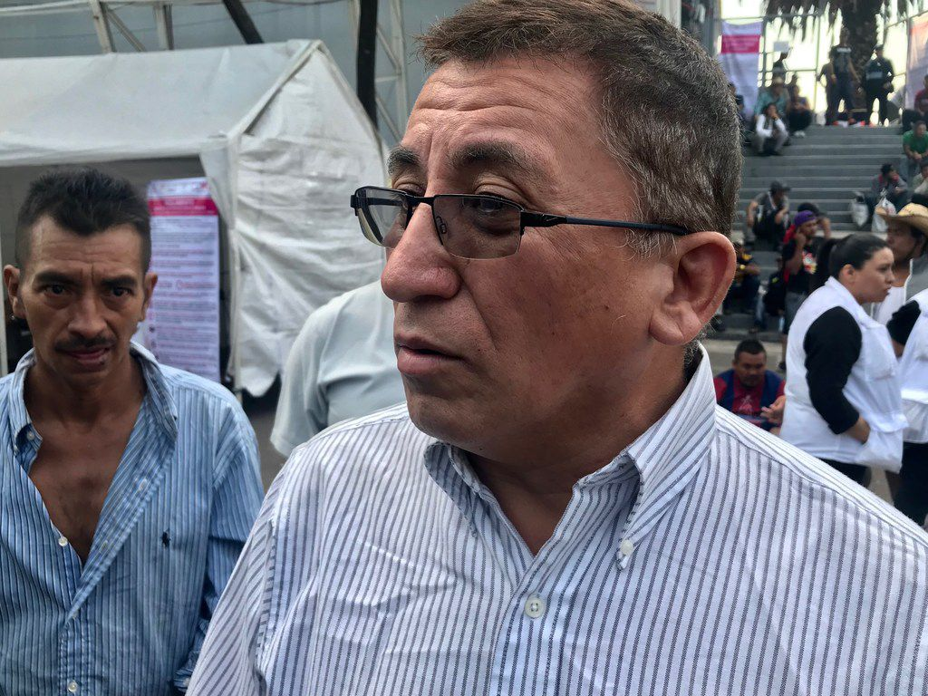 Bartolo Fuentes, a left-leaning former Honduran legislator, has been accused of organizing a massive caravan of migrants bound for the United States, a charge he denies.