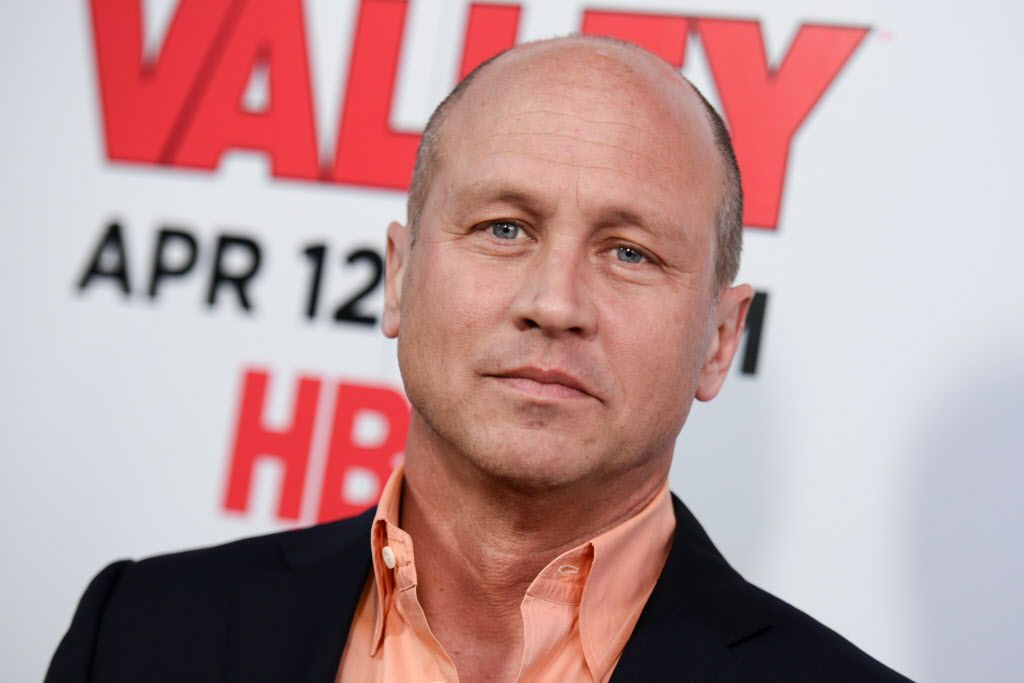 """Mike Judge arrives at the LA Premiere For Season 2 Of """"The Silicon Valley"""" held at the El Capitan Theatre on Thursday, April 2, 2015, in Los Angeles."""