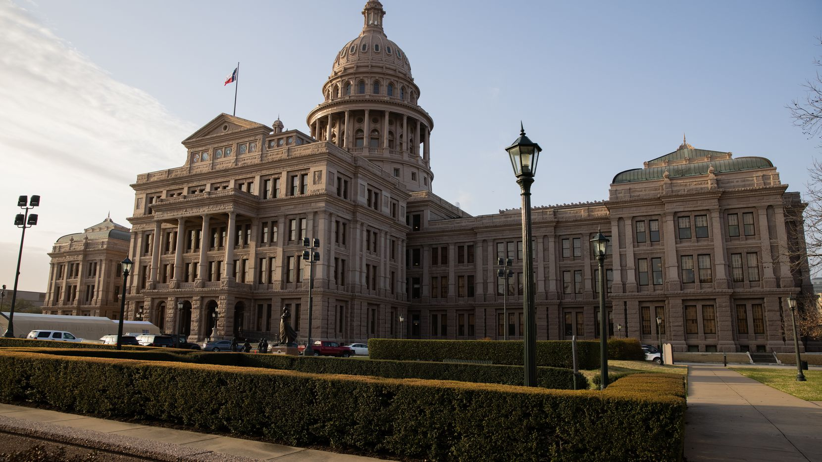 The Texas Senate has dropped, for now, its push to shrink the state's 14 court of appeals districts into seven. Democrats, civil rights advocates and even some Republicans opposed.